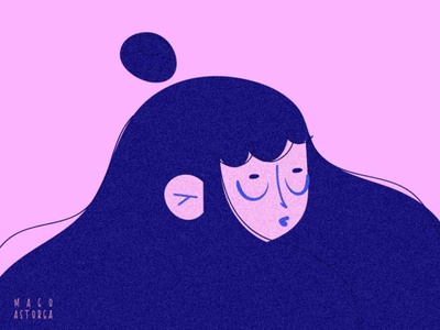 Marzo characterdesign girls march woman wacom girly illustraion illustrator