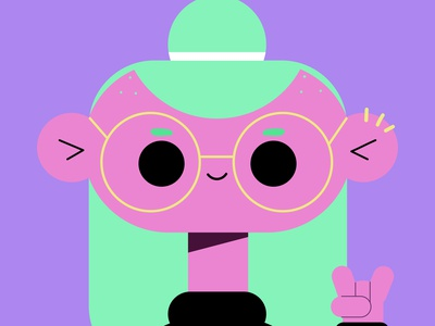 PEOPLE day smile character mexico wacom doodle geometrical girl vector illustration