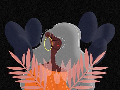 Porfavor nunca me olvides pwr design adobe girlpower designer illustrator wacom vector girl illustration