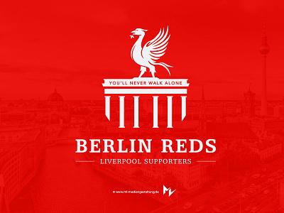Berlin Reds corporate identity branding logo