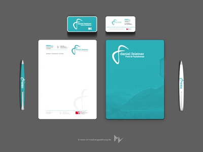 Daniel Feistner corporate identity portfolio letter business card branding logo