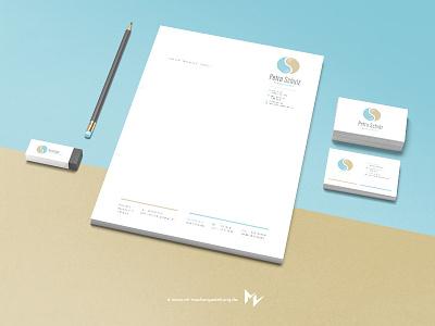 Petraschulz Main corporate identity portfolio letter business card branding logo