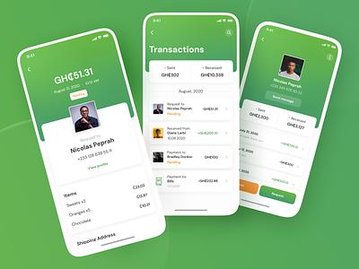 Pocketi. Online payments app payments app payments wallet app wallet ui wallet fintech app fintech ux ui uiux iphone