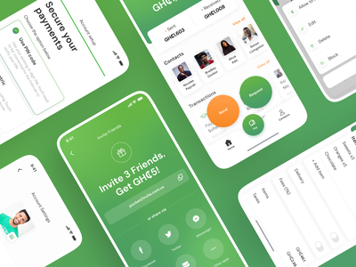 Pocketi. Online payments app wallet app wallet ui wallet fintech app fintech payments payments app green uiux ui typography figma design