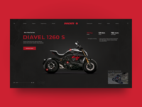Ducati Diavel 1260 S concept page