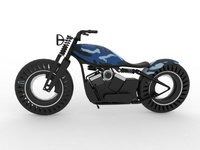 Fuel Cell Military Bobber