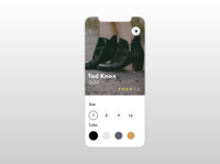 DailyUI Challenge | Customize Product | 033