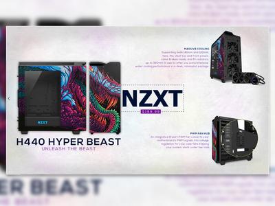 Nzxt Hyper Beast Case Advert