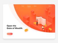 Financial illustration