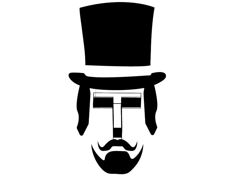 T Face symbol mark logo design design designer branding letter t logo