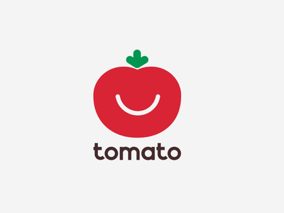 Tomato logo branding