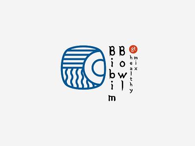 Bibimbowl logo logo branding