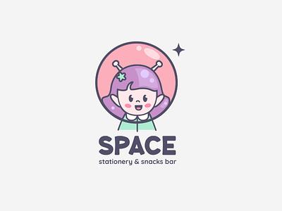 Space branding logo