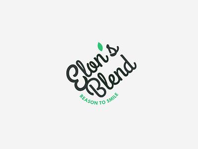 Elon's blend branding logo
