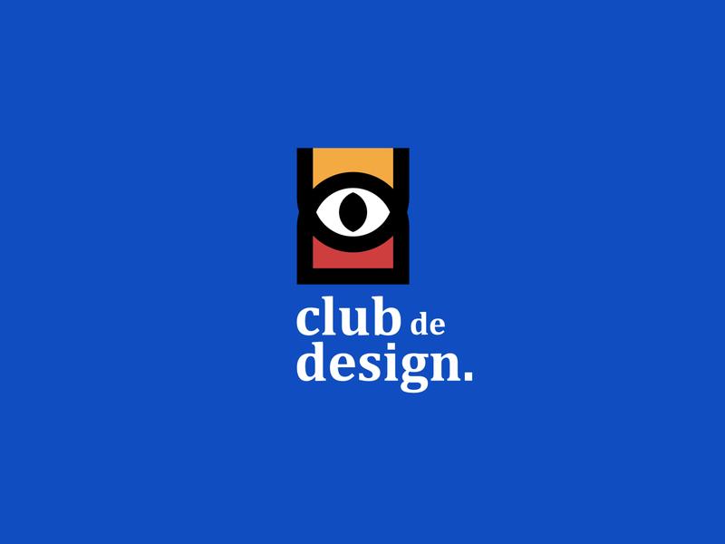 club de design design wordmark iconmark brand design minmimal design logo design brand identity branding logo