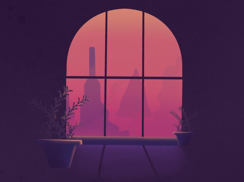 Lockdown procreate colours colour modern design illustration