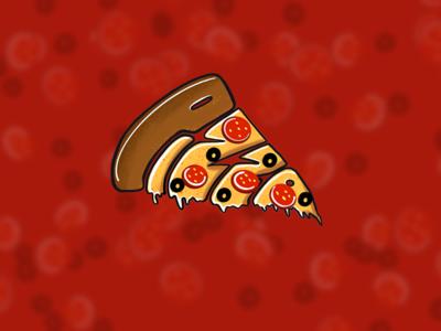 Food colour food food illustrations illustration pizza