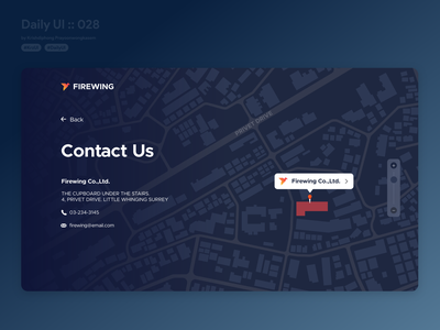 Contact Us #dailyui #028 direction locations location map illustraion typography contacts contact page contact us contact vector application ui app design userinterface dailyui