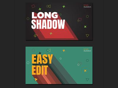 Long Shadow design vector illustration