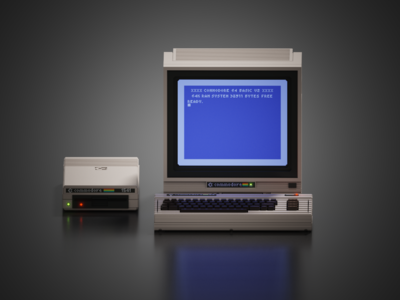 Voxel Commodore 64