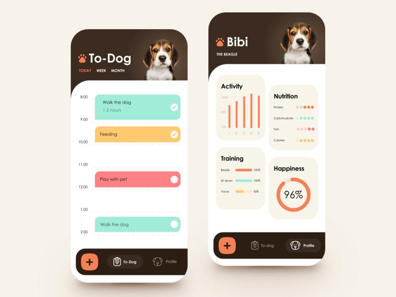To-Dog List App activity pets dog planner diary todo list todo app todolist list