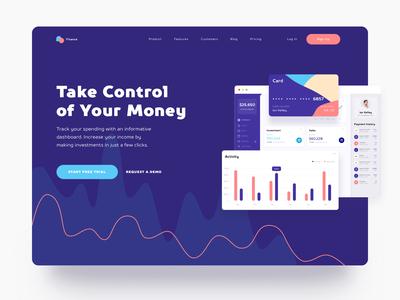 Finance Landing Page