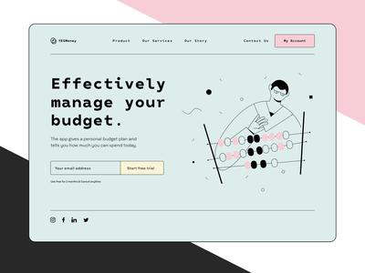 Budget Landing Page