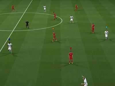 Rethinking Cursor Colours of FIFA Football fifa colours cursor