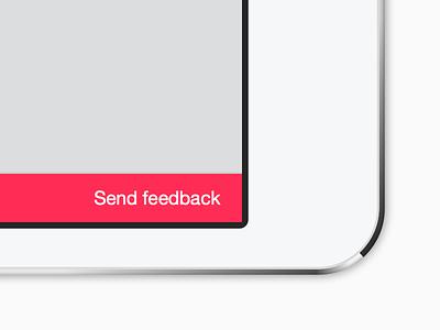 Send feedback ios ipad iphone thoughts beta feedback
