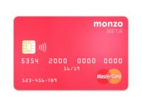 Monzo Card Beta