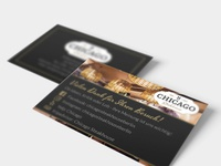 Business Card Chicago Steakhouse