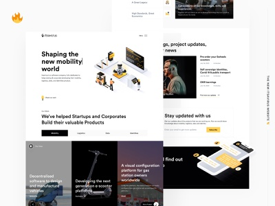 The New Itsavirus Website 🔥 ui indonesian landing page software development software company software house blockchain mobility landing page design agency website website concept website website design landing design landingpage design