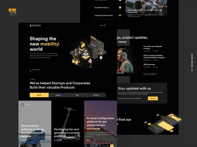 Dark Mode Version of The Itsavirus Website 🌉 smart city mobility software studio software company software design agency landing page agency website website design landing page indonesian black dark theme dark mode dark dark ui