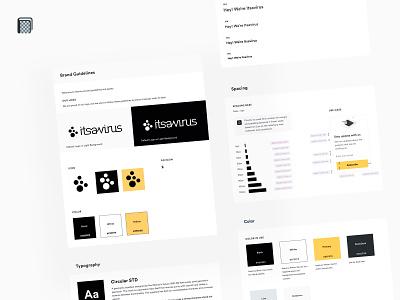 Itsavirus UI Guidelines 📒 style guide bright style guides style guide ui guide ui guidelines design systems design system styleguides styleguide