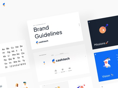 Cash Tech Brand Book 📖 visual identity guide book typography minimal guideline brand guidelines bitcoin wallet ethereum crypto wallet crypto logo design ui guidelines brand book brand branding