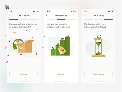 Beneko - Learn 💡 progress onboarding whitespace green minimalist logo design illustration mobile app indonesian ux mobile app design indonesia ui