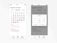 Redesign for Kalender Indonesia Android App