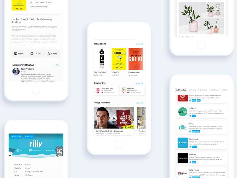Get more done ux ui mockup app mobile freelance