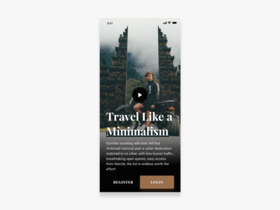 Travel Like A Minimalism Exploration