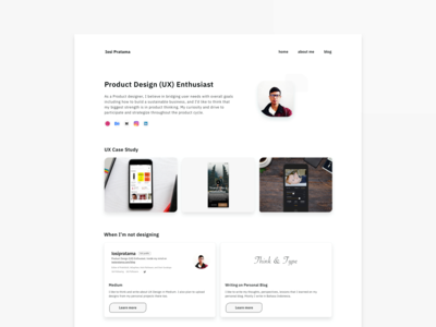 Redesign My Personal Website