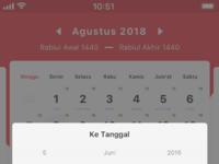 Cari tanggal