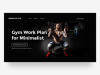 Dribbble thumbnail gym