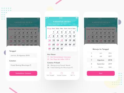 Redesign Kalender Indonesia App - UX Case Study