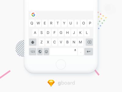 Google Keyboard Design Freebies