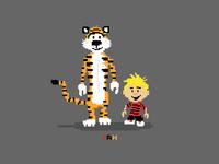 8-bit Calvin & Hobbes