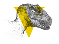 V for Velociraptor