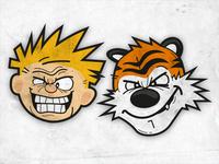 Calvin & Hobbes.. Smile!