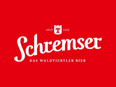 Schremser Bier Logotype customtype logotype beer