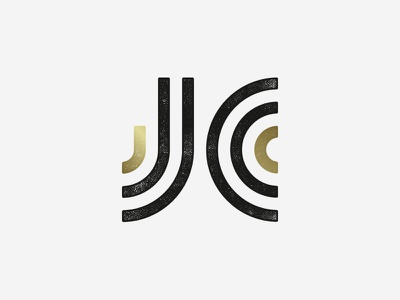 JC Logo monogram letters jc