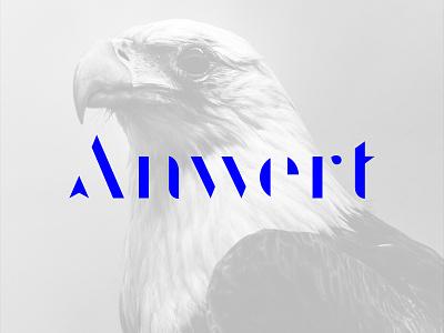 Anwert Logotype agency logotype logo